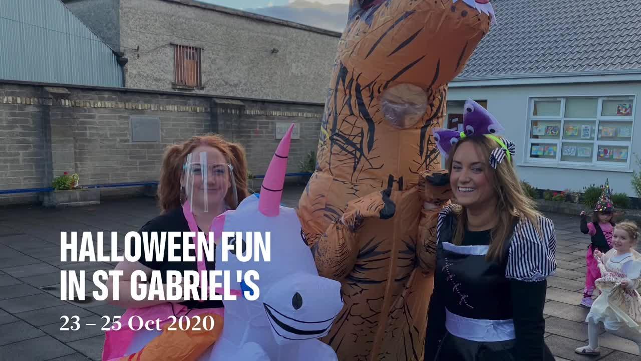 Halloween Fun at St Gabriel's