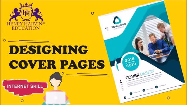 content writing: how to design cover page
