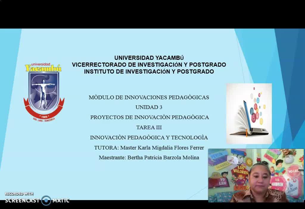 Innovación Pedagógica y Tecnología
