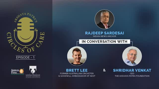 Conversation between Brett Lee, Rajdeep Sardesai and Shridhar Venkat