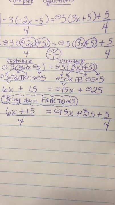 Complex Equations-VIDEO3of8