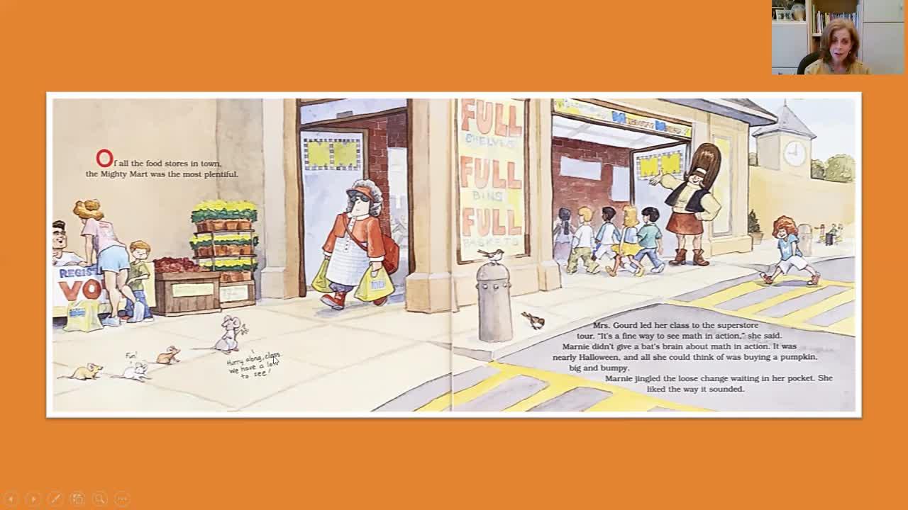 Math Man ~ A Picture Book Read-Aloud by Teri Daniels