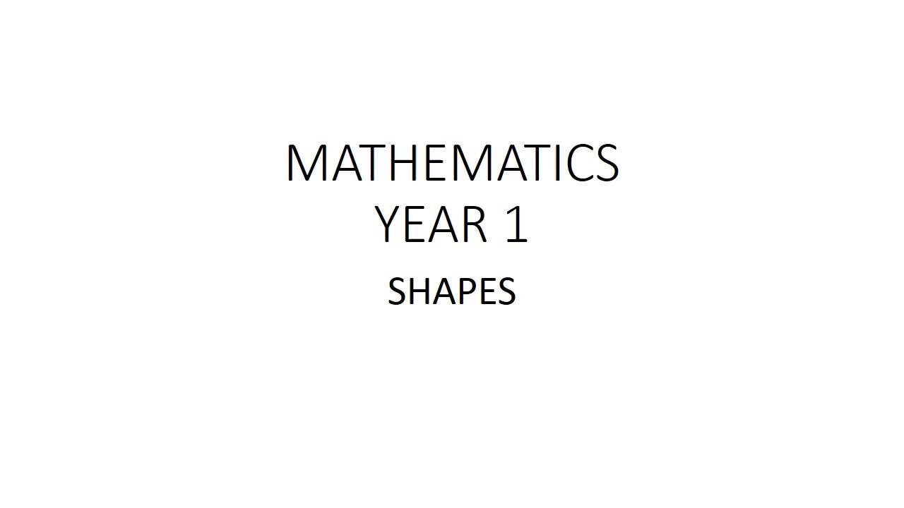 Math Year 1