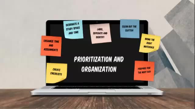 Prioritization and organization