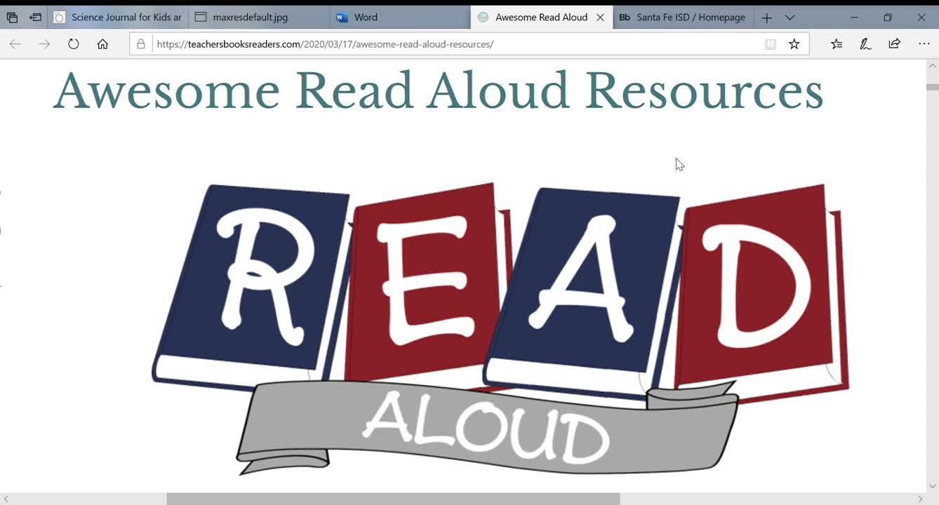 Read Aloud, Dictate and Other Online Tools