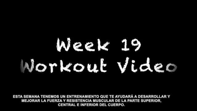 P.E Video Week 19 Testing