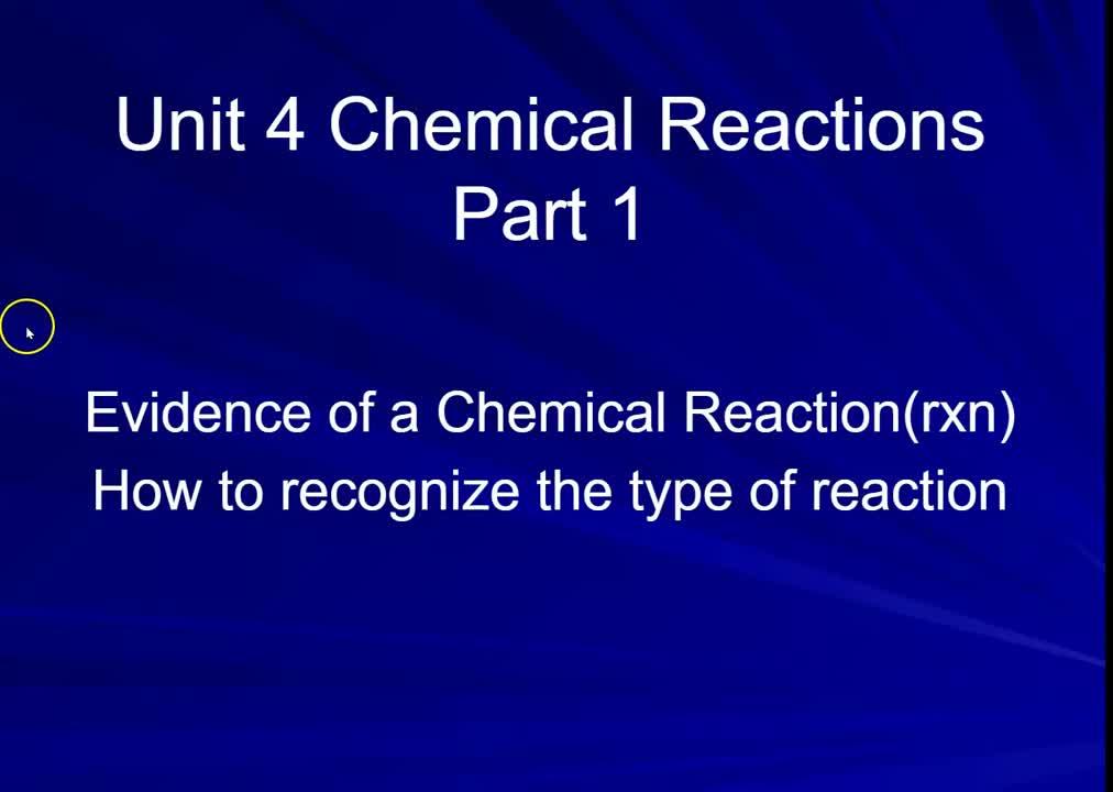 Chem U4 part 1