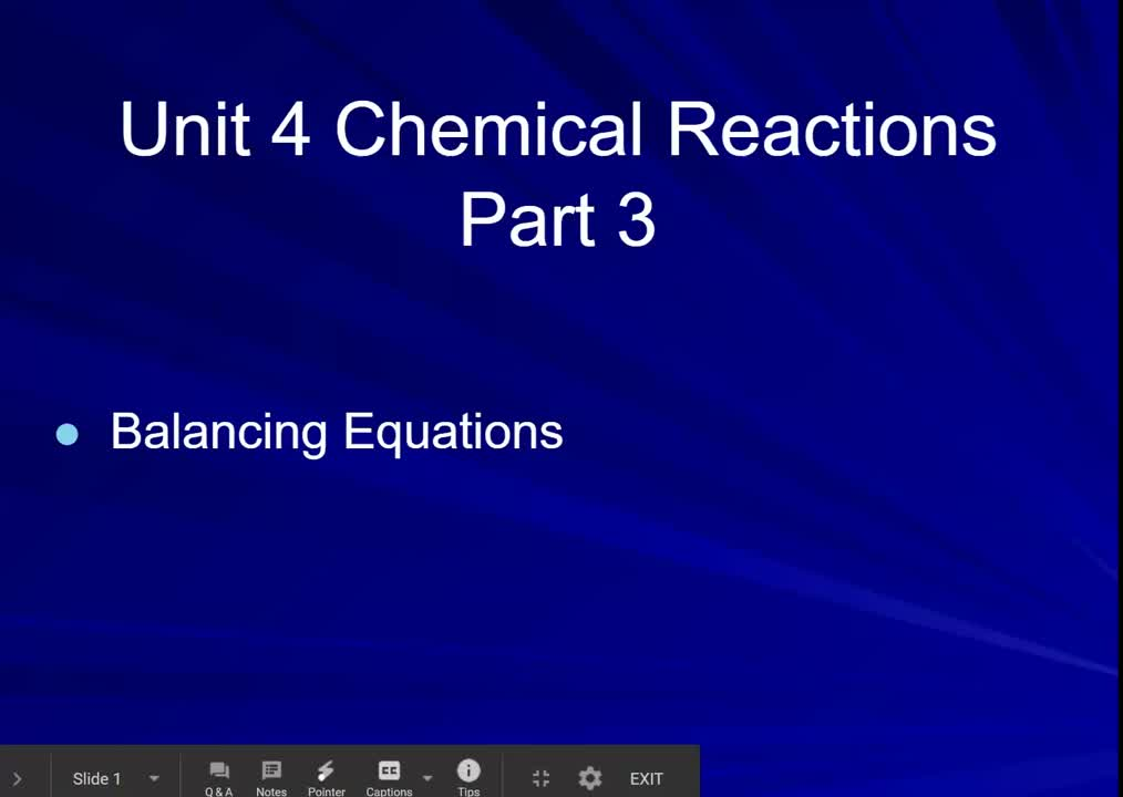 Chem U4 part 3