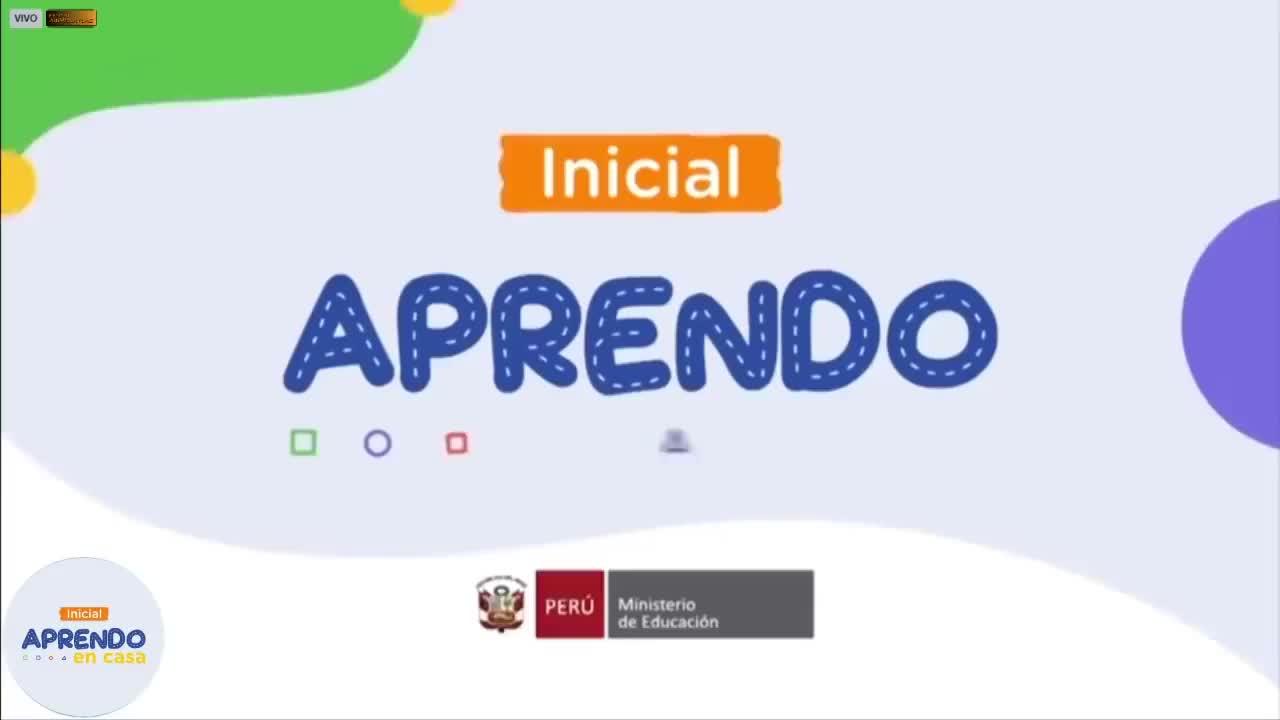 APRENDO EN CASA 18 MAYO