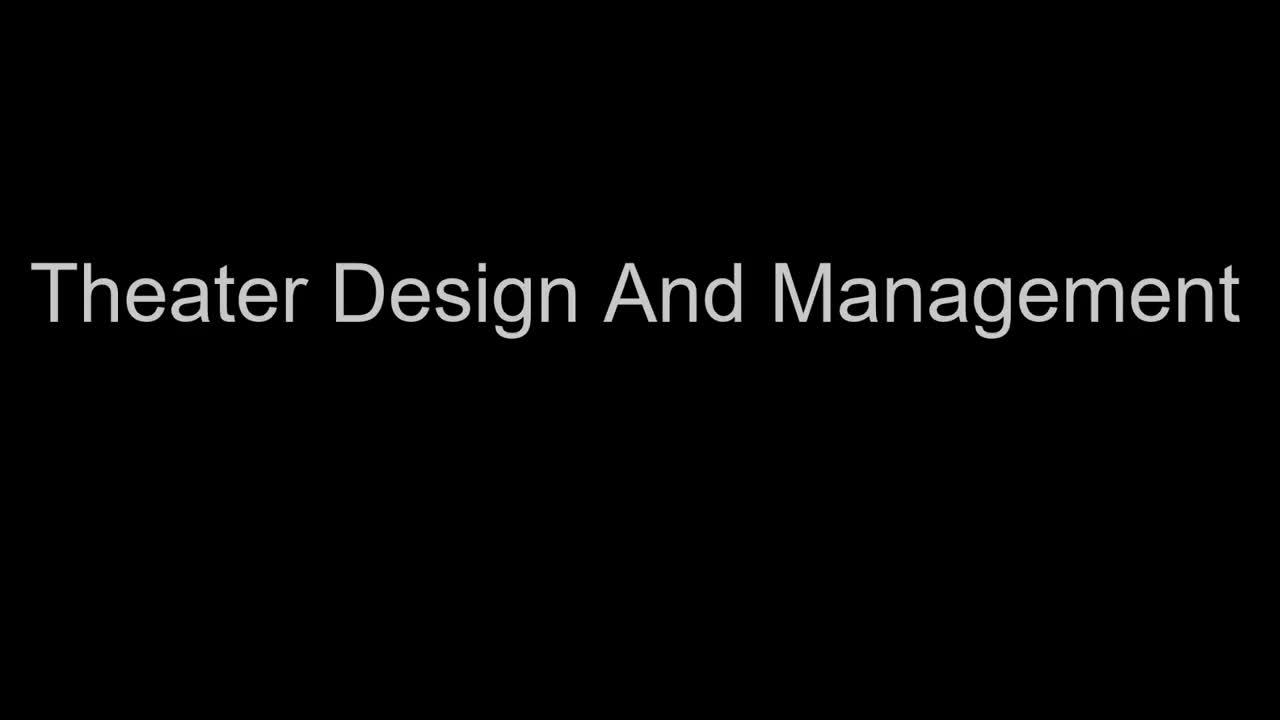 CTE Theatre Design and Management Into Video