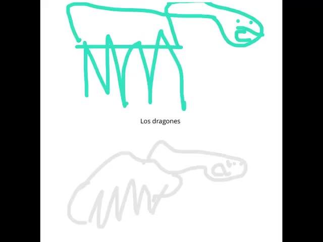 Los Dragones Por Trent R