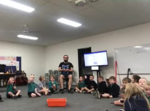 Preps First Music Class