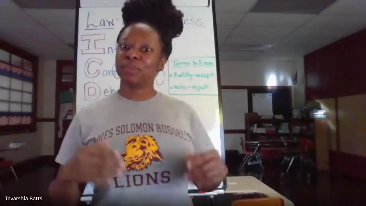 Teaching the Law-Making Process