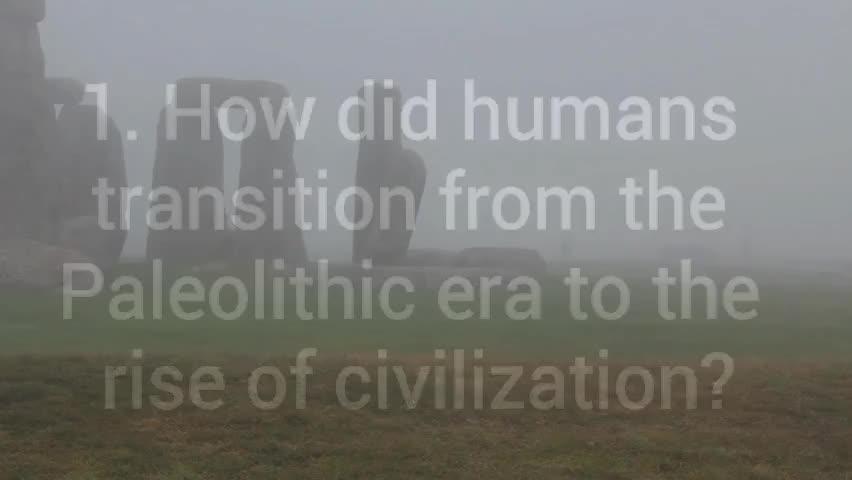WS 1.1 - Towards Civilization
