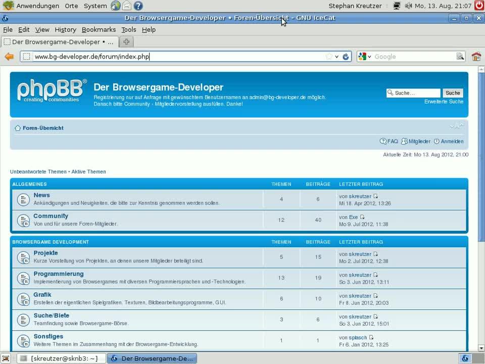 Grundlagen Browsergame-Programmierung: Teil 4 - Client-/Server-Konzept, lokaler Webserver