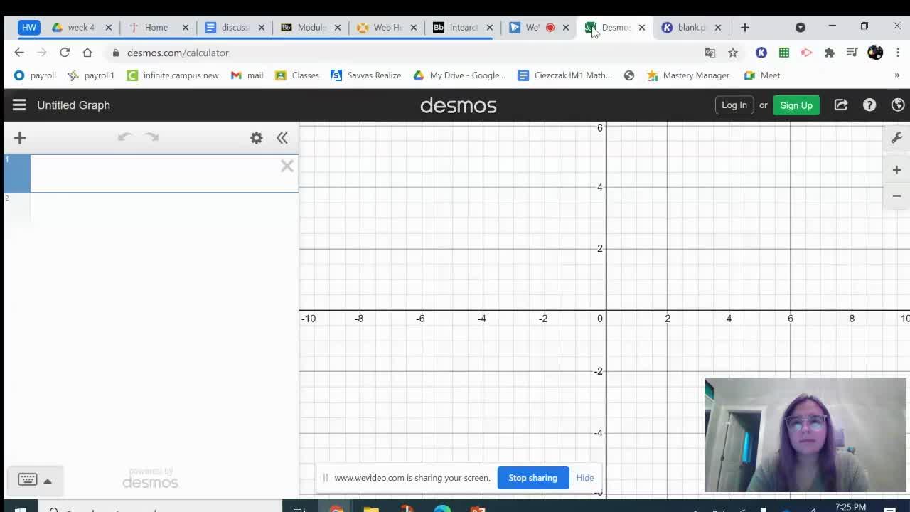 How to Enter a Table into Desmos Calculator