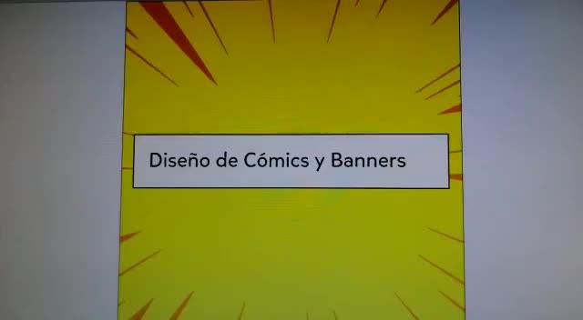 DISEÑO COMICS Y BANNERS
