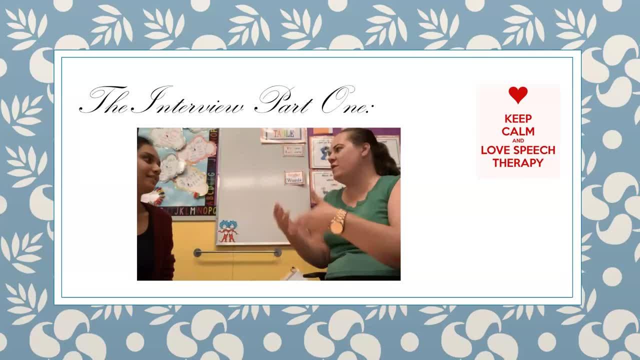 SPED730 Teacher Interview