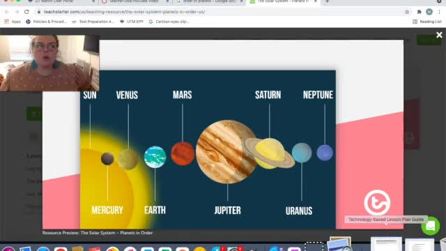 Outerspace Lesson Plan