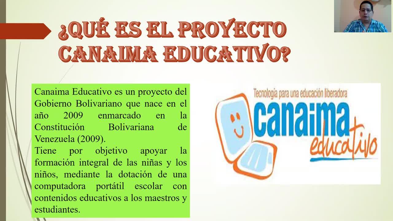 PROYECTO CONAIMA EDUCATIVO