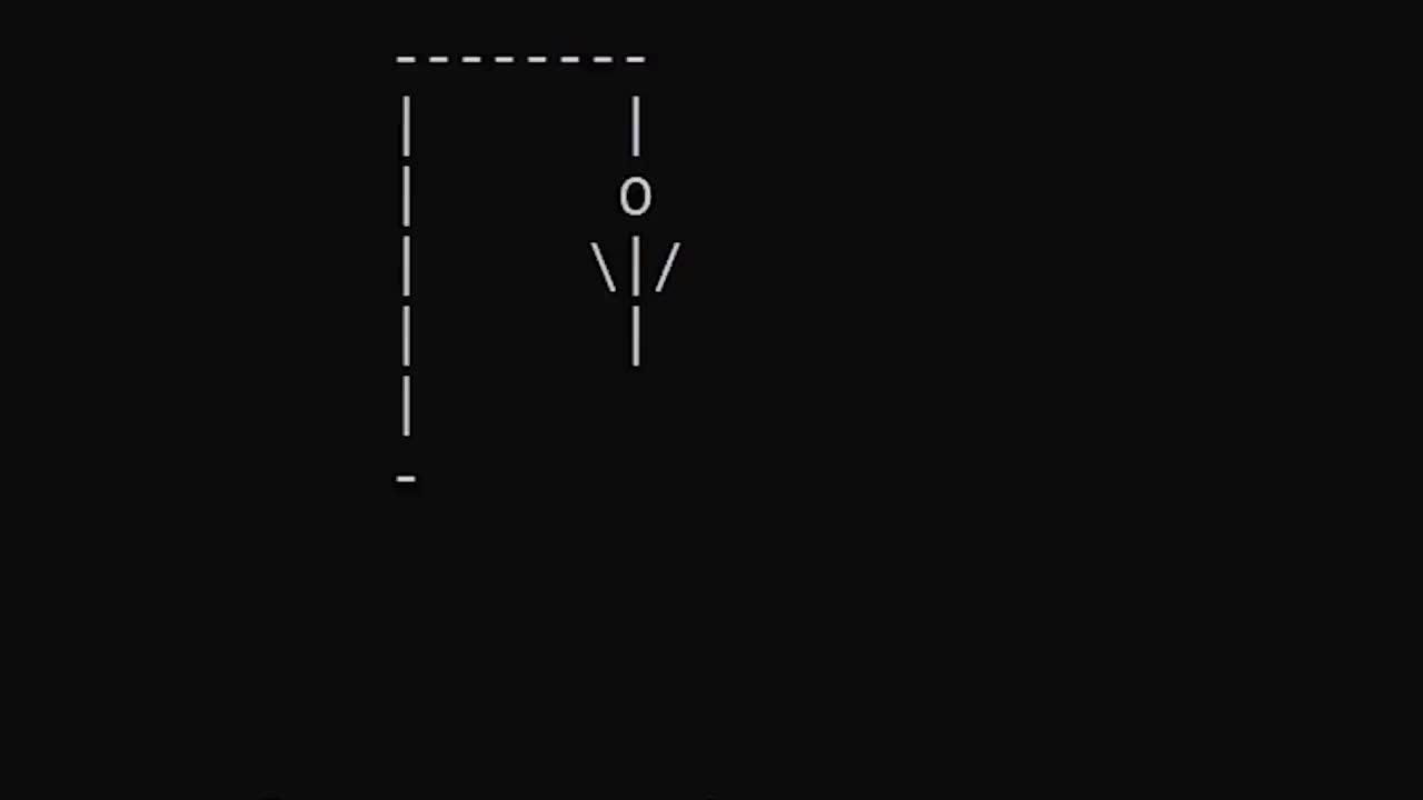 Make Hangman In Python