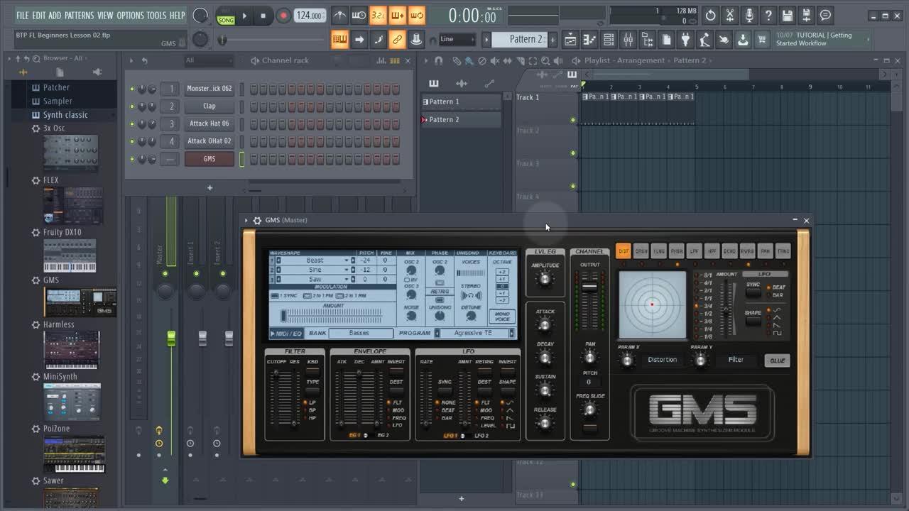FL Studio tutorial lesson 2