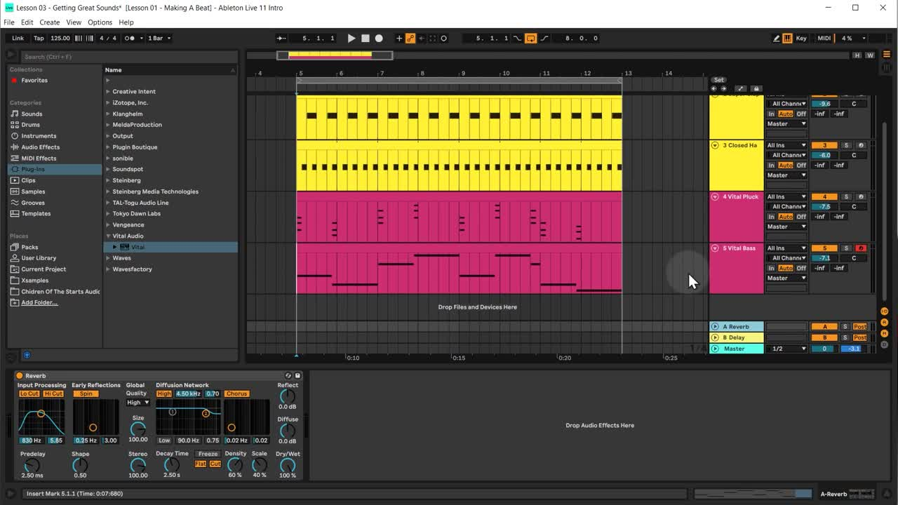Ableton tutorial lesson 4