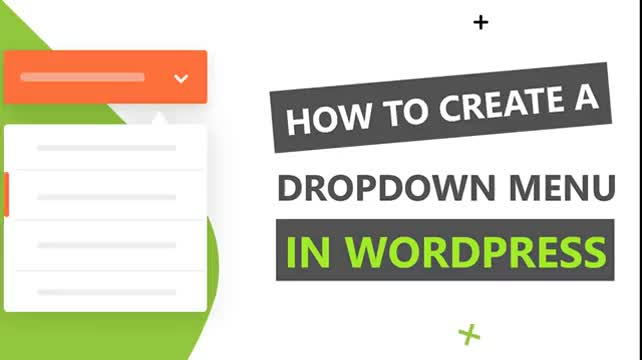 How to Create a Dropdown Menu in WordPress
