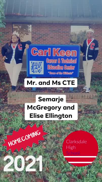 Homecoming 2021 @Carl Keen CTE