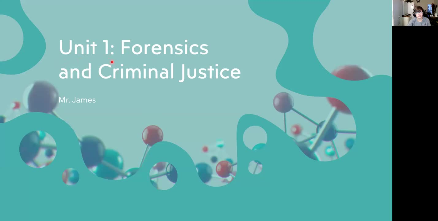 Forensic Science Unit 1 Introduction