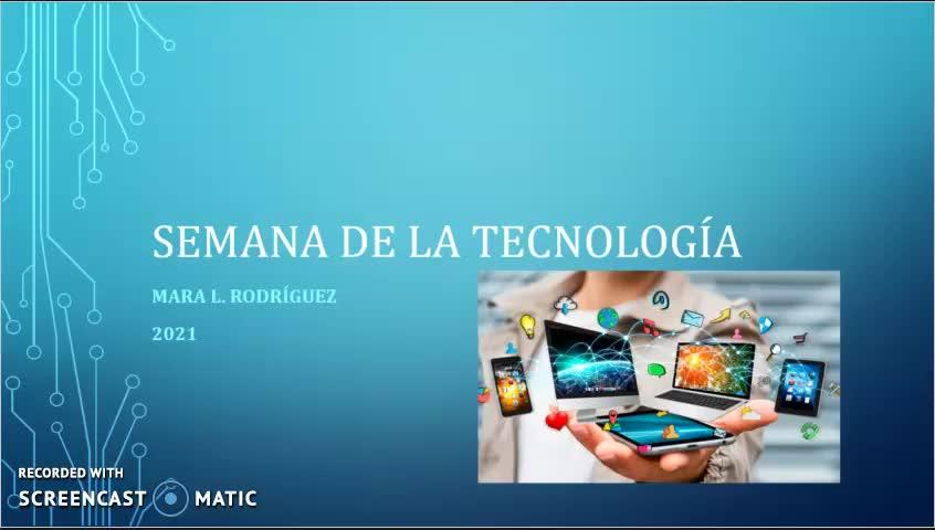 Semana de la tecnología 2021