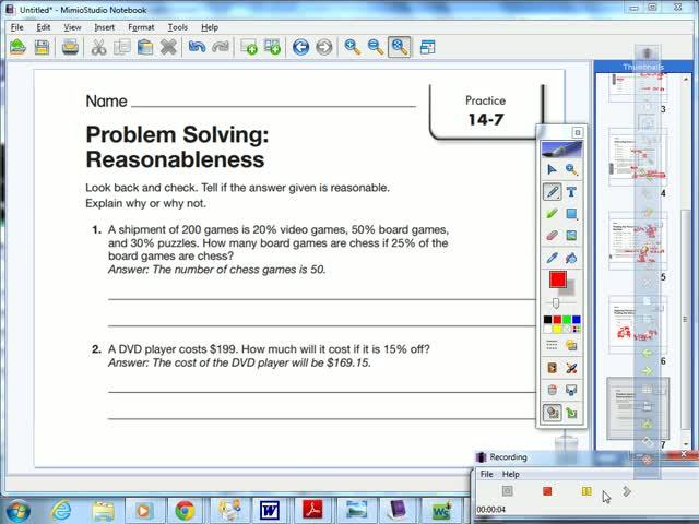 problem solving reasonableness 11-7