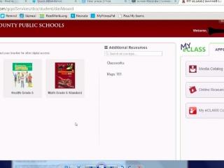 My E Clas >> Eclass Help Video