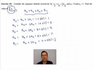 Common Core Algebra II Unit 5 Lesson 3 Summation Notation