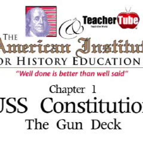 USS Constitution - The Gun Deck