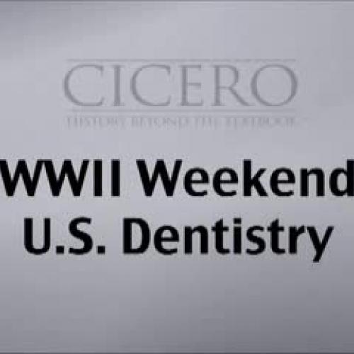 WWII Weekend - Dentistry