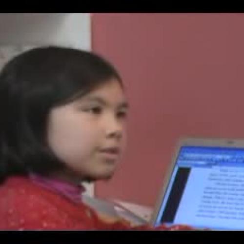 9 year old Adora Svitak - Talks about her sto