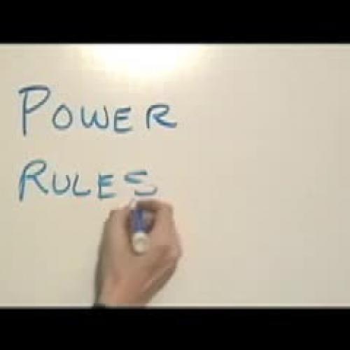 Powers Rule