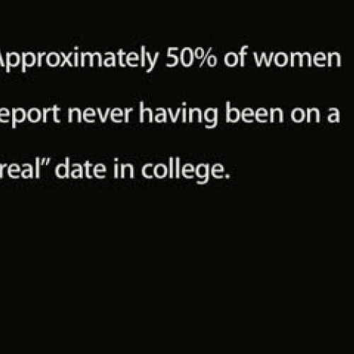 Is Dating Dead on College Campuses