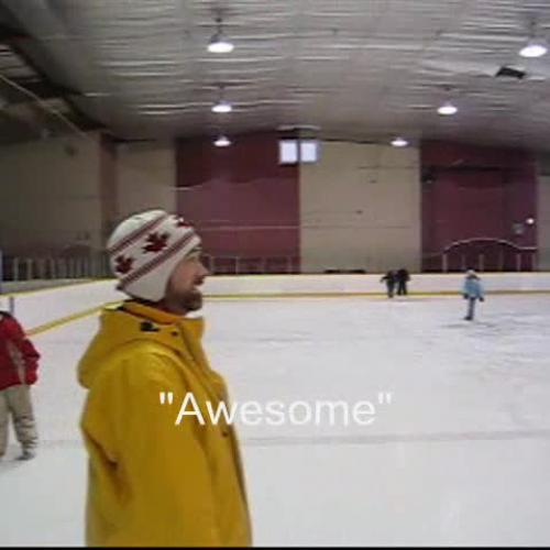 Skating at Merivale Arena