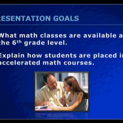 5th to 6th Math Transition