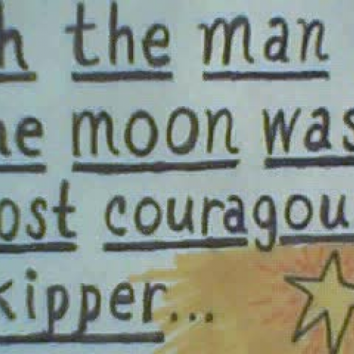 Animation Project THE MAN ON THE MOON