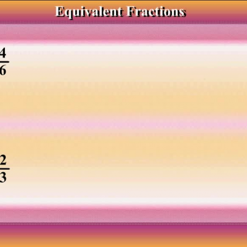 Equivalent Fractions - Math Video Tutorial by Mr Lee