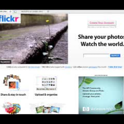 Flickr Mobile Tutorial