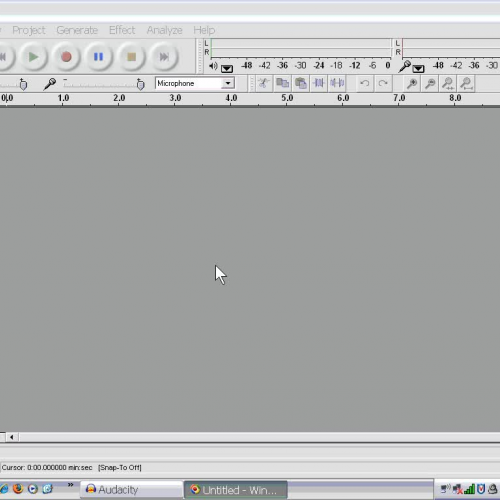 MP3 File Production  5 - Recording with Audac