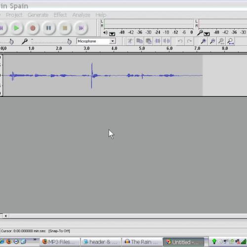 MP3 File Production  6 - Edit  your audio - d