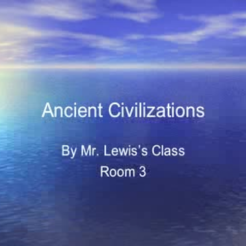 Ancient Civilizations to tune of We Didnt Sta