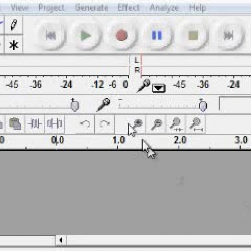 Getting Started with Audacity