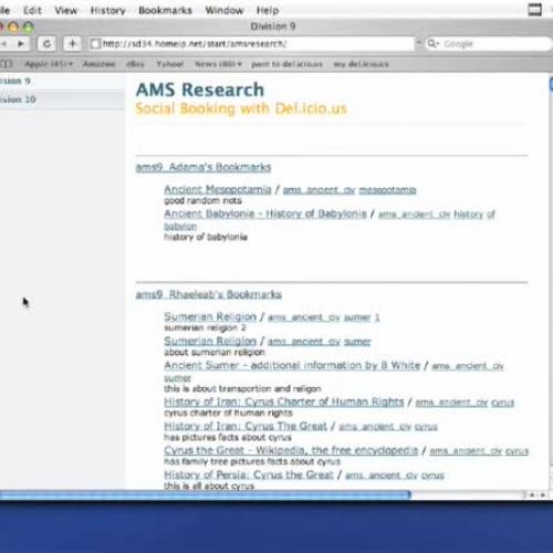 TechTips ScreenCast Episode 5: Collaborative