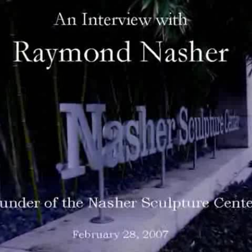 Ray Nasher Interview